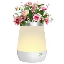 Lámparas de flores