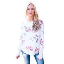 Camisetas de flores