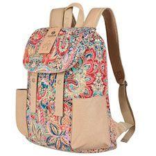 mochilas con flores