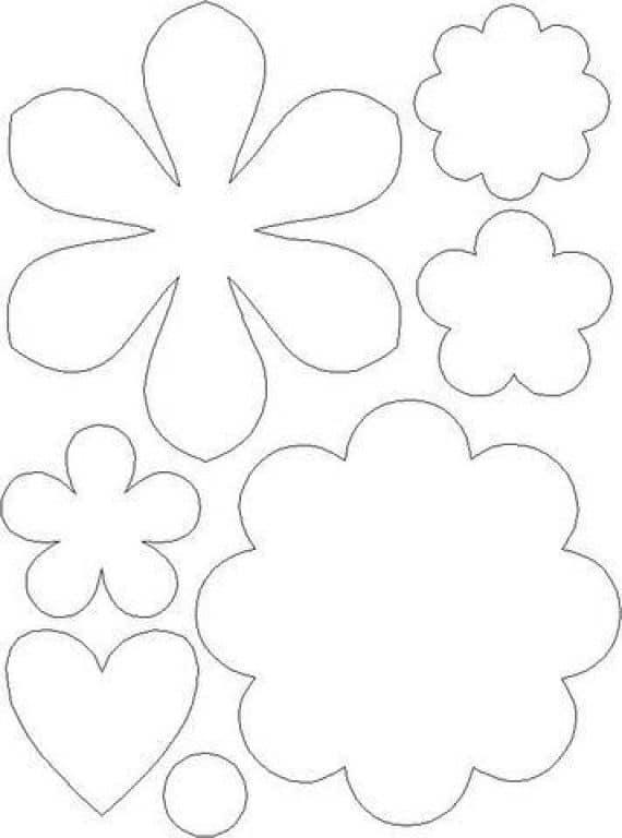 Plantillas De Flores Defloresonline Com