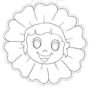 flor girasol niña