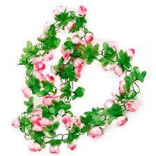 Guirnaldas con flores