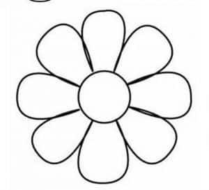 flor para canasto