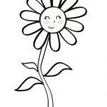 flor de margarita infantil
