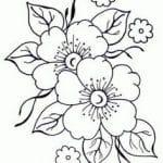 flor sakura dibujo
