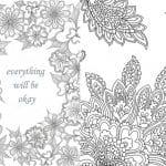 de 150  Dibujos de Flores para Imprimir y Colorear