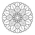 dibujo de flores chinas