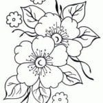 patrones flores para bordar