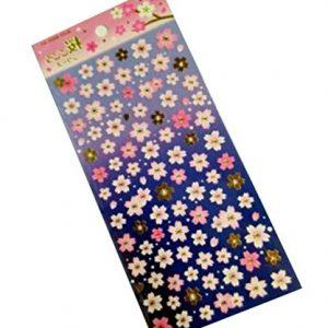 Etiquetas adhesivas flor de cerezo
