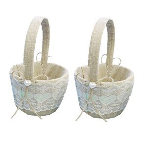 cestas de bodas vintage