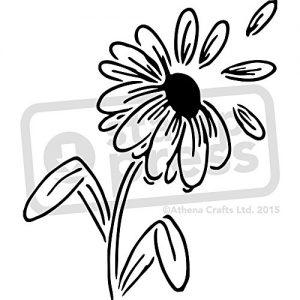 Stencil de pétalos Tamaño A4