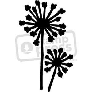 Plantilla Estarcir A5 flores