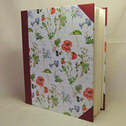 Álbum serie de flores 20x25 30 hojas