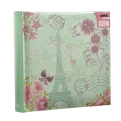 Álbum de fotos Torre Eiffel, mariposas y flores 200 fotos