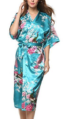 Pijama Avidlove kimono con estampado floral