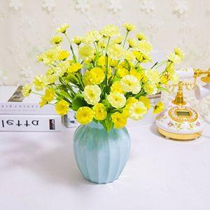 Centro flores artificiales