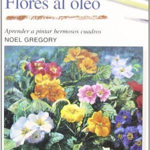 Libro cómo pintar flores al óleo