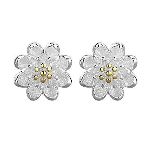 Pendientes CS PRIORITY flor de loto