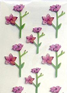 Pegatinas de orquídeas