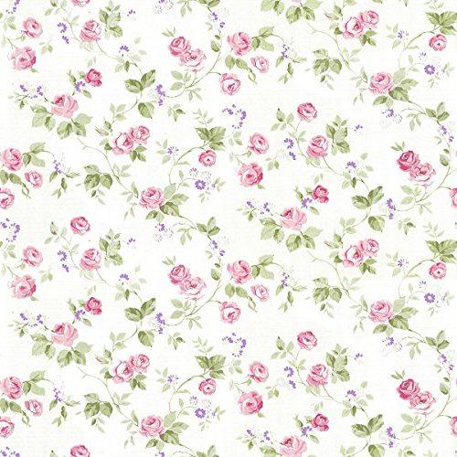Papel pintado de flores defloresonline com - Papel pintado blanco y plata ...
