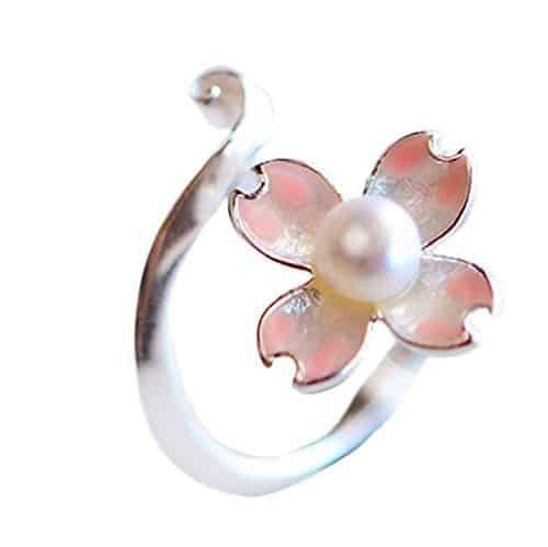 Anillo flor de cerezo