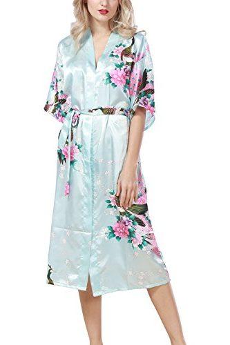 Pijama albornoz estilo largo