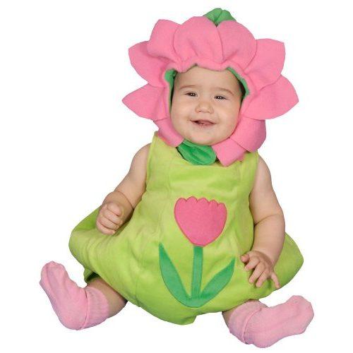 Disfraz de flor para bebés, talla 6-12 meses