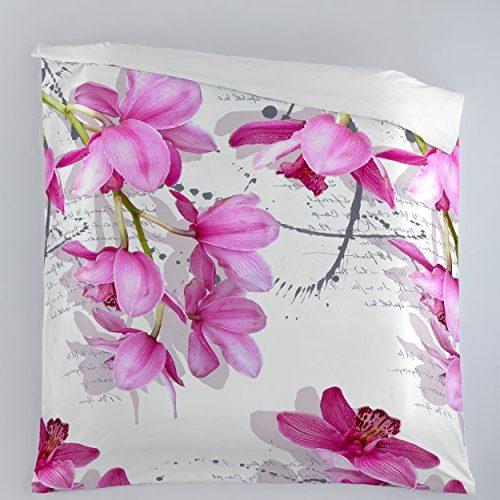 Funda nórdica con diseño de orquídeas