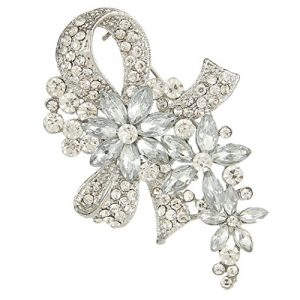 Broche Ever Faith para novias, Cristal Austriaco