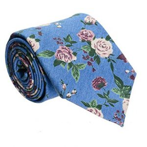 Corbata FLATSEVEN Estampado De Flores