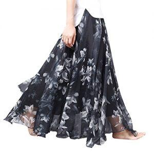 Falda larga Feoya de Gasa