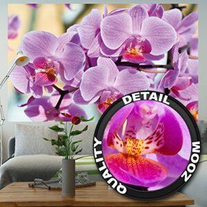 Fotomural de orquídeas