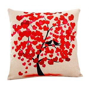Funda de cojín árbol del amor