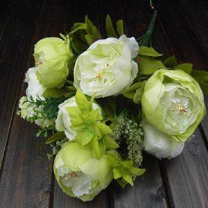 Ramo de flores artificiales para bodas