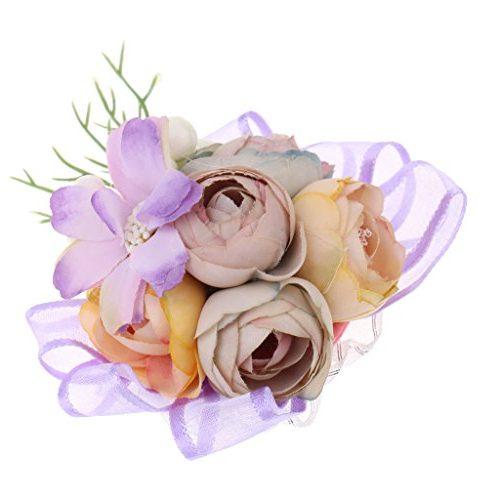 Pulsera de Flores Artificiales Gazechimp