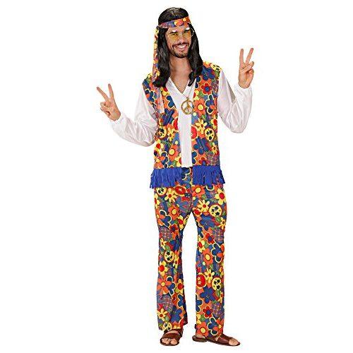 Disfraz de hippie, hombre adulto