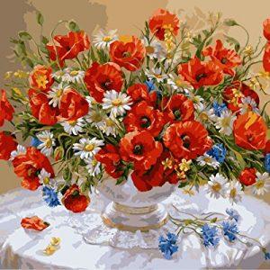 Pintura flores salvajes