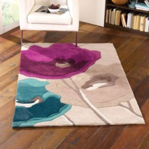 alfombra infinite diseo amapolas 160x230 cm - Alfombras De Diseo