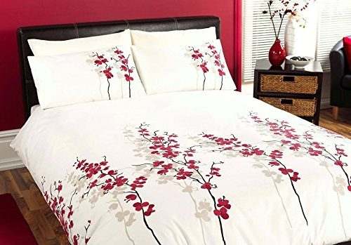 Juego de funda de edredón y 2 fundas de almohada para cama de matrimonio