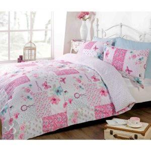 Juego de funda nórdica y fundas de almohadas patchwork