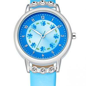 Reloj de chica con detalles florales
