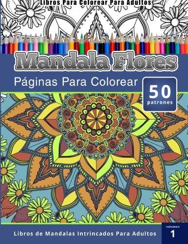Libro Mandala flores - Volumen 1