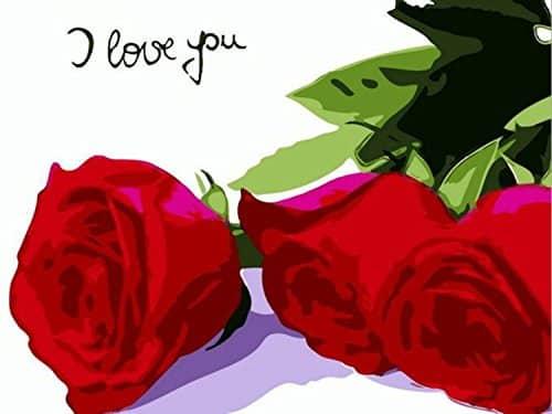 Rosas - I love you