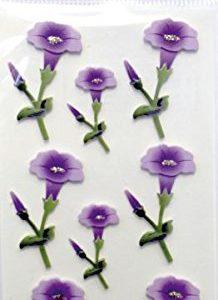 Pegatinas manualidades orquídeas
