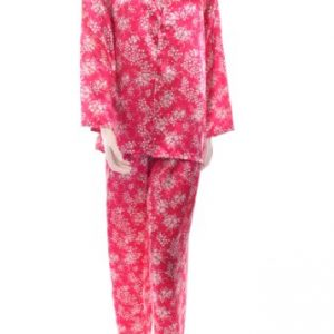 Pijama Marlon para mujer con diseño de flores