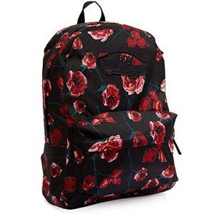 vans con flores rojas