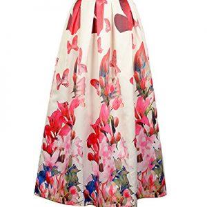 Falda larga Plisada Skirt