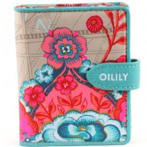 Monedero Oilily Fantasy con diseño de flores