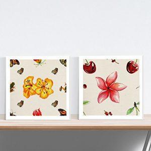 pack de láminas de flores