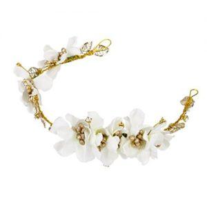 Diadema Pixnor flores blancas
